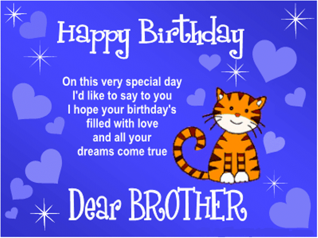 Birthday Wishes For Brother Happy Birthday Wishes For Brother With