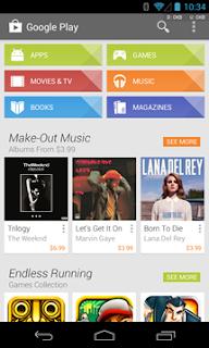 Ultima Version de Google Play Store 4.1.10