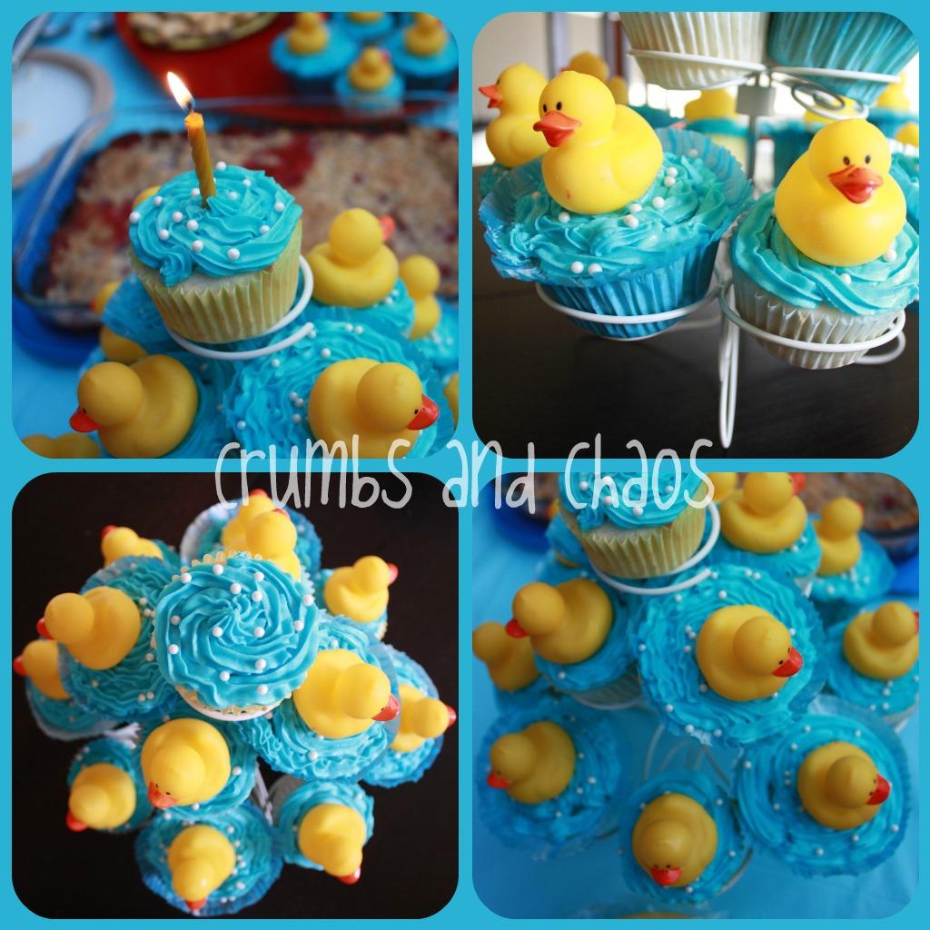 12 Sweet Treat Cupcake Ice Cream Rubber Ducks