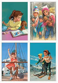 Affiche vintage Martine