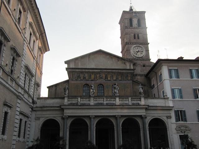 Santa Maria in Trastevere, en Roma
