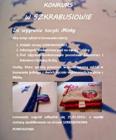 Pierwszy konkurs w Szkrabusiowie