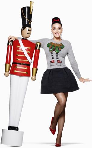 ropa Navidad H&M campaña Katy Perry