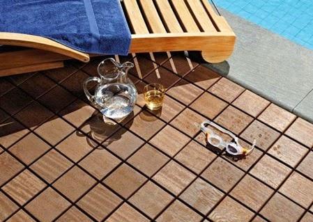 pose de parquet au maroc parquet deco le larideck ou les dalle caillebotis en bois exotique. Black Bedroom Furniture Sets. Home Design Ideas