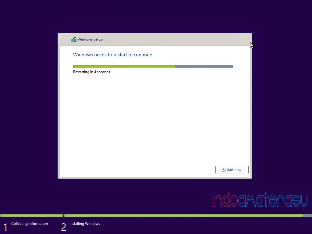 Cara install Windows 8/ 8.1 9