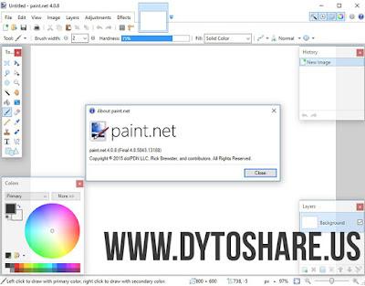 Paint.NET 4.0.8 Final
