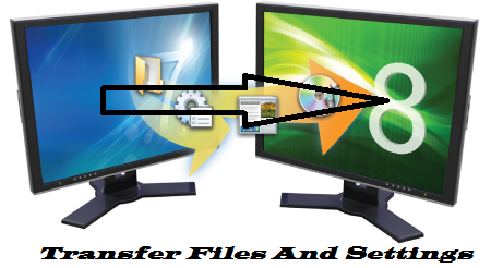 Transfer Files & Settings From Windows 7 To Windows 8 Easily