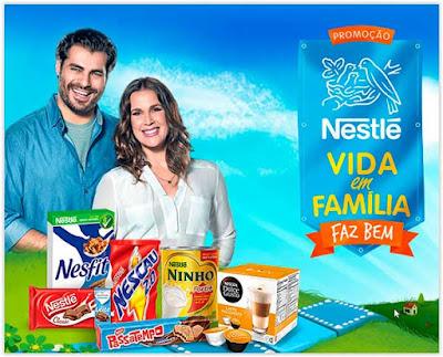 Promoção Nestlé Vida em Família Faz Bem