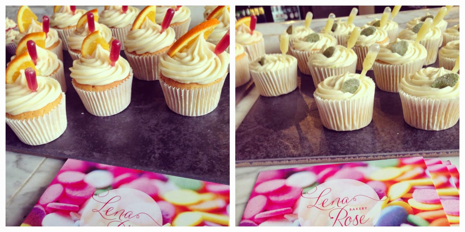 Lena Rose Bakery Cupcakes