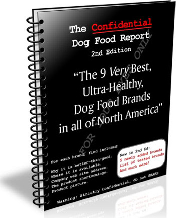 Confidential Dog Food Report