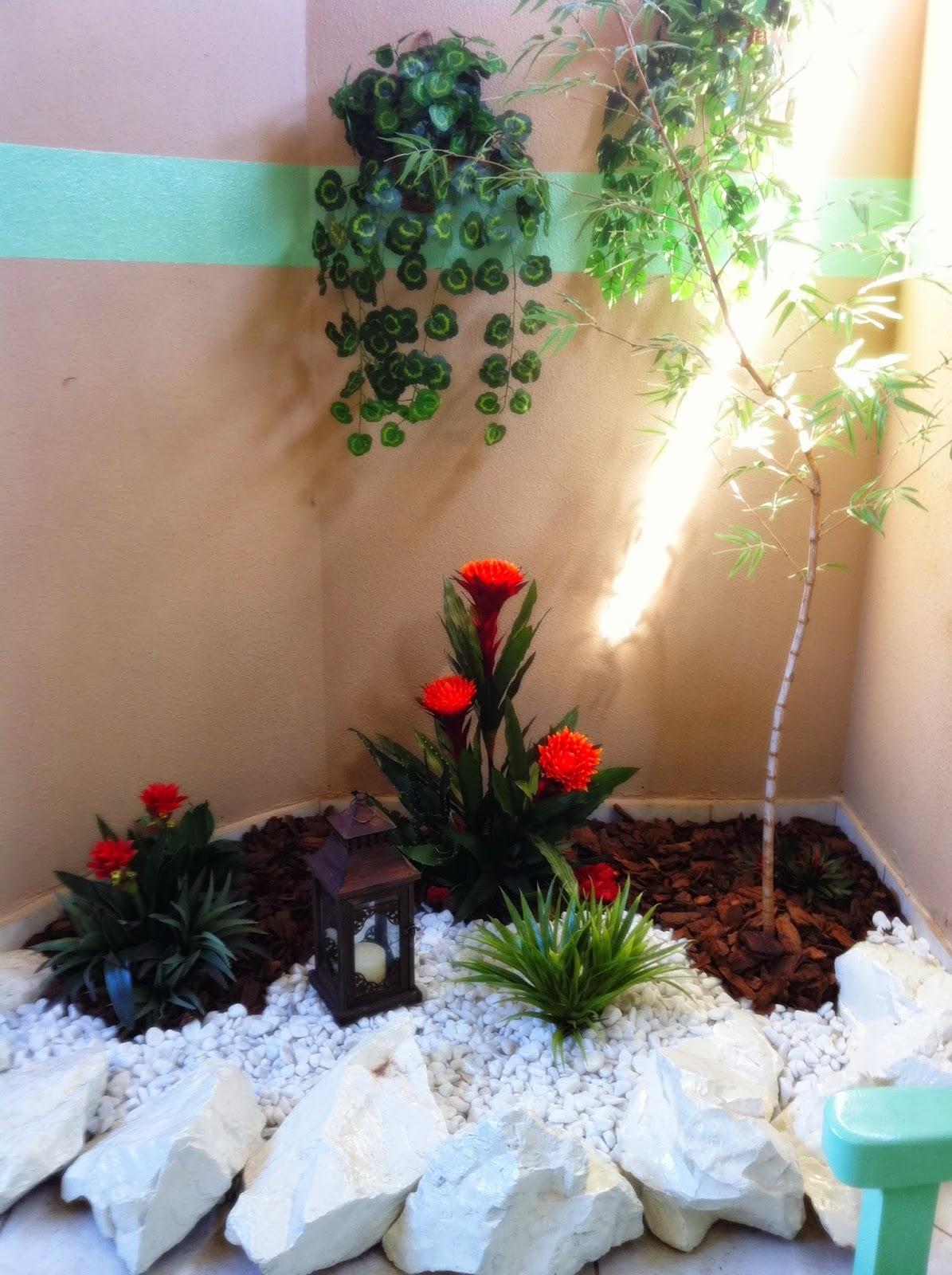 Casa das Flores JARDIM DE INVERNO COM PLANTAS DURÁVEIS