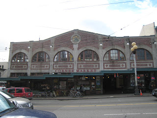 Seattle Pike Place Market | Corner market Building