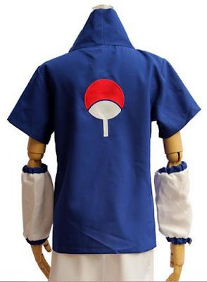 Jual Kostum Cosplay Uchiha Sasuke Import Online