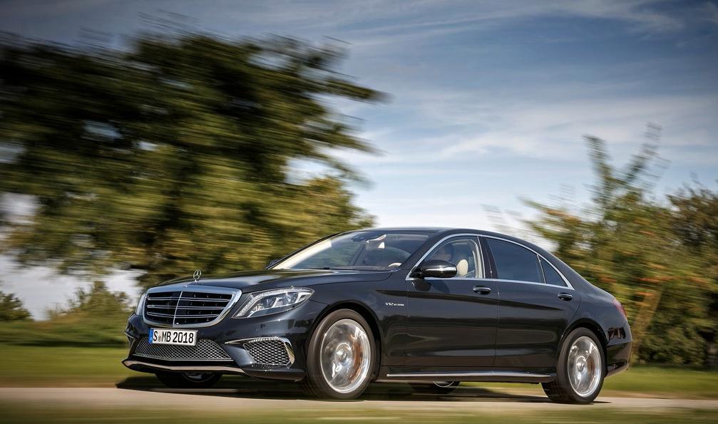 2014 Mercedes-Benz S-Class black