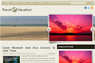 My Travel Plans Blogger Templates
