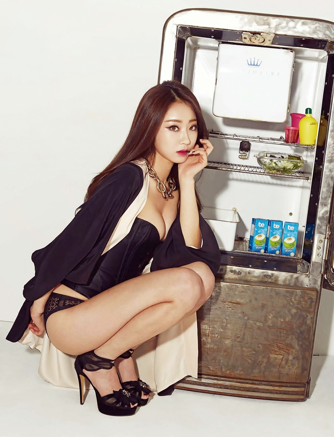 9MUSES, Kyungri, Korean, Celebrities, Underwear, Underwear Photoshoots,