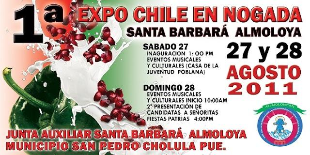 Expo Chile en Nogada