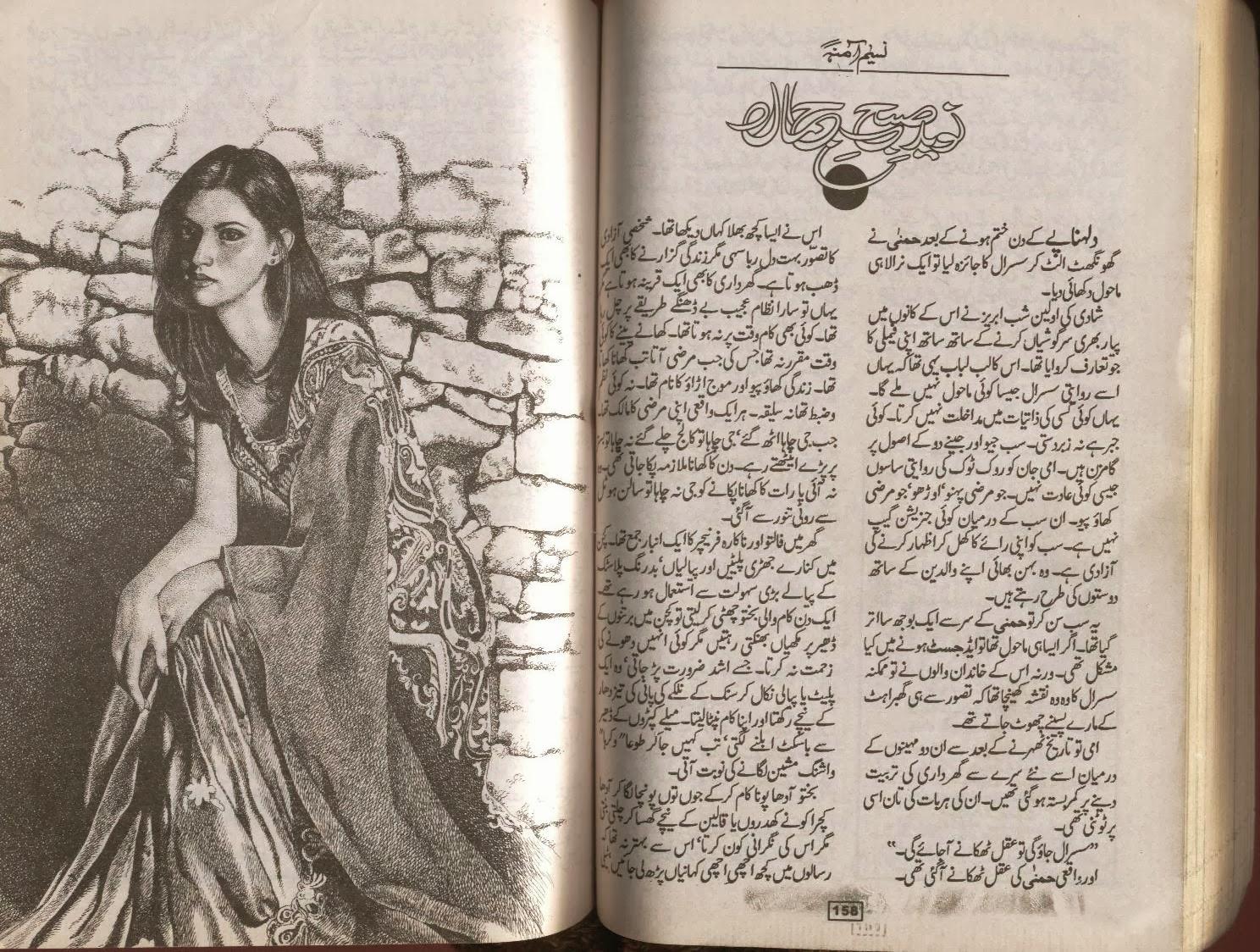 Naveed e subh e jamal by Naseem Amna Online Reading.