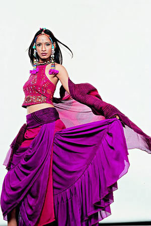 Indian fashion models