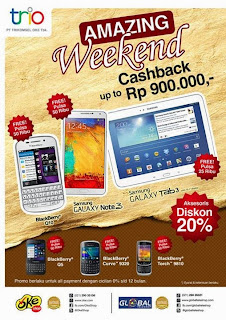 Samsung dan BlackBerry Promo Akhir Pekan