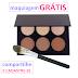 Amostras Grátis - Maquiagem de 6 Cores