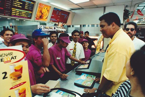 Ali di Jakarta 1996