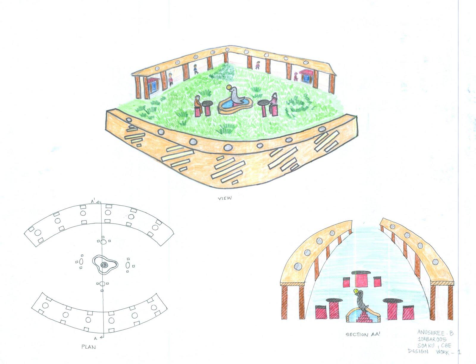 Portfolio semi open space design for Semi open spaces