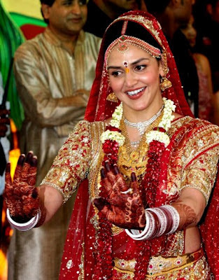 marathi actor and actress: Esha Deol Marriage Images