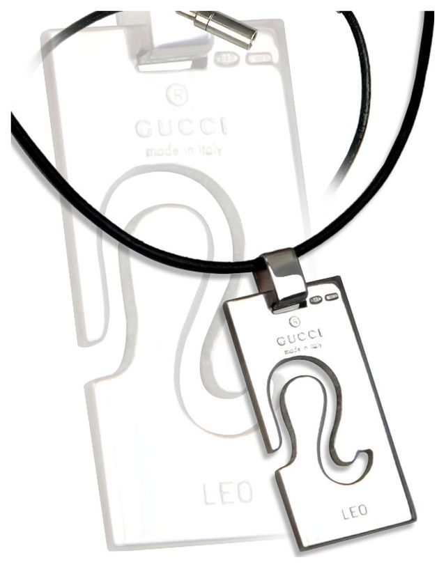 Mens Jewelry - Leo Necklace by Gucci