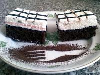 Sütemény recept - Csokoládés habos kocka