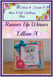 Runner Up Winner - June 2016