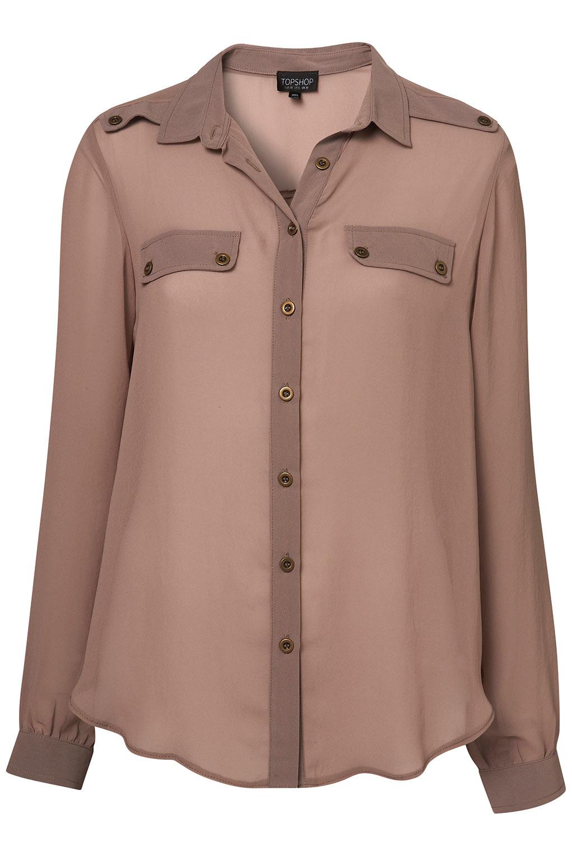 Chiffon Shirt Blouse 58