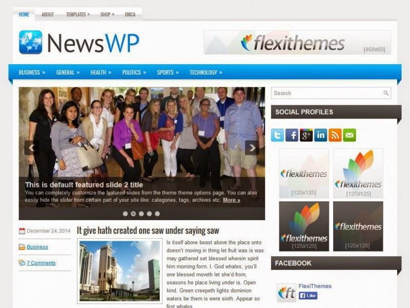 NewsWP - Free Wordpress Theme