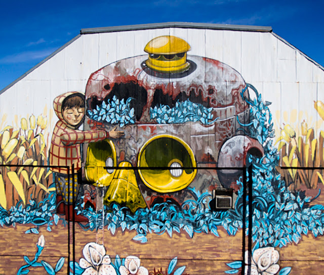 Street Art By Pixel Pancho For Wall Therapy 2013 In Rochester, USA. 2