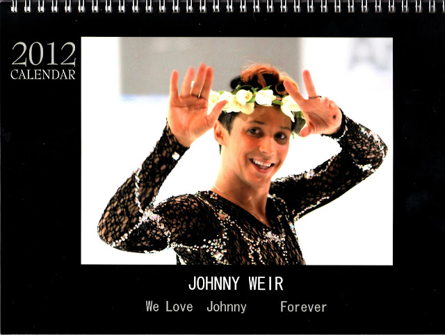 Photo © Official Johnny Weir Blog.