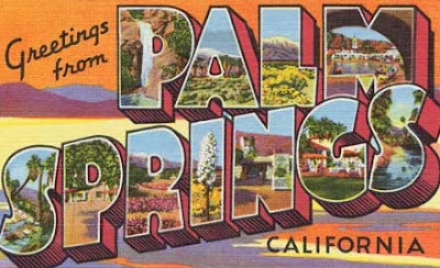 Postcard from Palm Springs 1970s