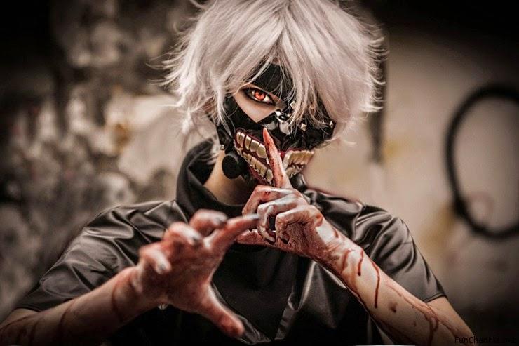 tokyo ghoul cosplay kaneki