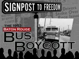 Baton Rouge Bus Boycoot