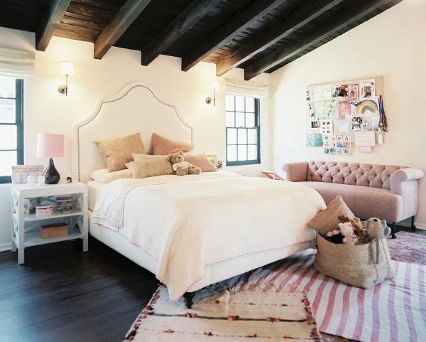 California Peach Girl Room Inspiration