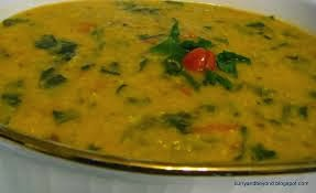 Dal Palak Recipe - Punjabi Vegetarian Recipe | Punjabi Vegetarian Food