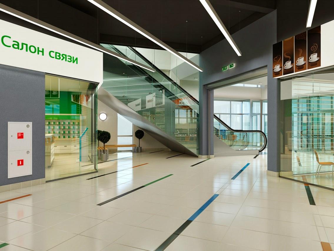 Дизайн Торгового центра молл Малина Нижний Тагил Рынок Галерея бутиков