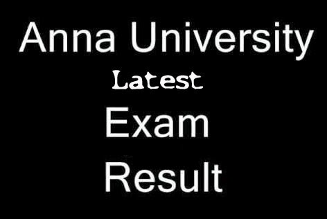 Anna university result 2014 check here