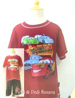 baju kartun Cars 2