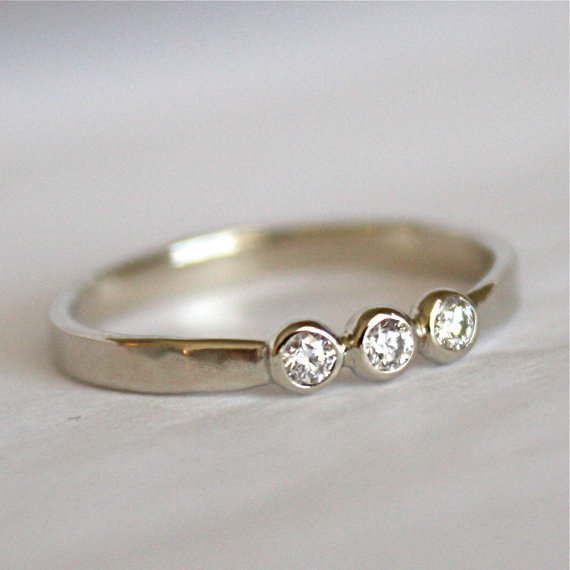 gallery for hippie wedding rings
