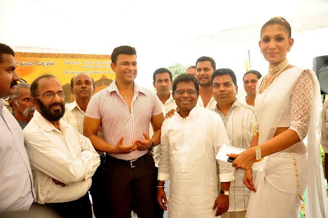Sri Dalada Gamanaya New sinhala movie Muhurath Day | ශ්රී ...