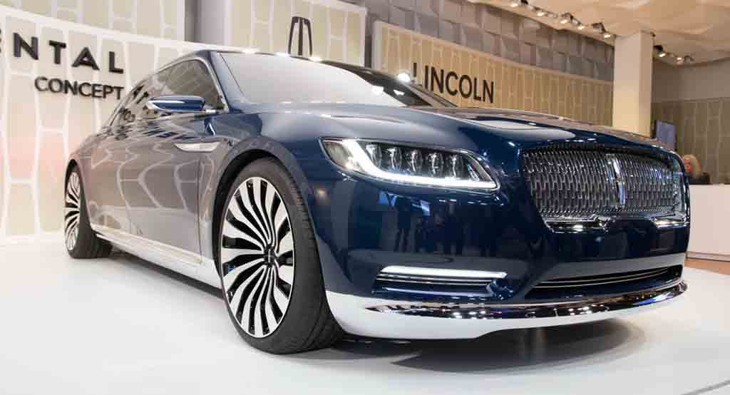 2016 lincoln continental review concept specs coupe. Black Bedroom Furniture Sets. Home Design Ideas