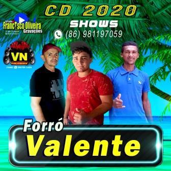 CD FORRÓ VALENTE 2020