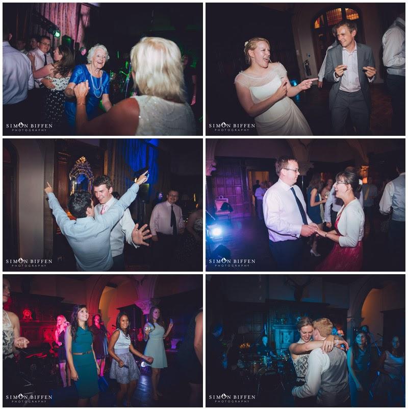 Wedding dancing at Huntsham Court