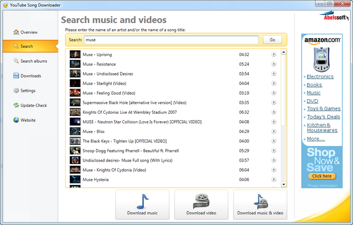Video Songs Download Youtube Downloader