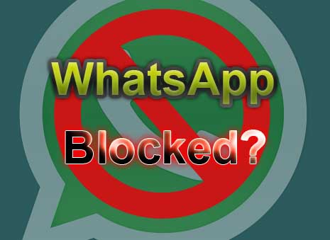 WhatsApp blocked solution